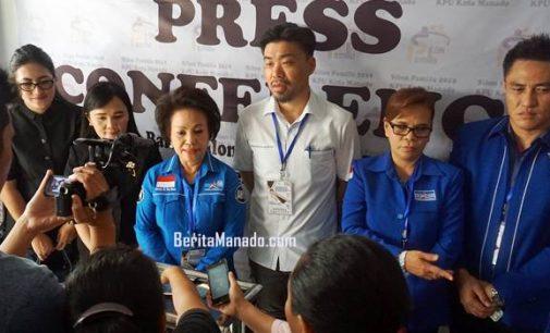 Bidik 15 Kursi, NORTJE VAN BONE Pimpin Pendaftaran Bacaleg Partai Demokrat Manado