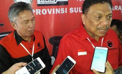 Masukkan Berkas Caleg di KPU, OLLY DONDOKAMBEY Targetkan 17 Kursi DPRD Sulut