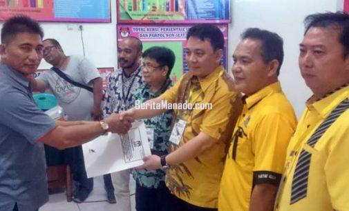 Daftarkan 40 Caleg di KPU, Golkar Manado Targetkan 9 Kursi