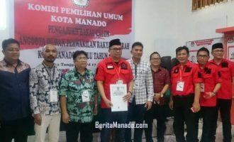 Ini Daftar Caleg PDI-P Manado
