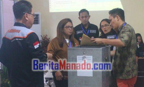 KPU Plenokan Rekapitulasi Hasil Perhitungan Suara Pilkada Minahasa