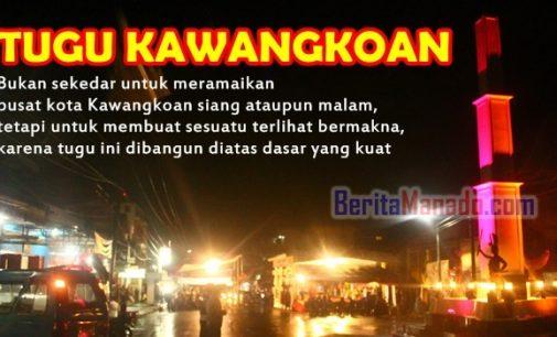 ROYKE MEWOH Resmikan Tugu Kawangkoan