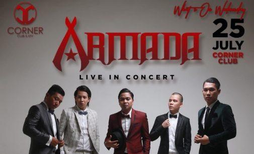 Besok !!! Armada Band Gelar Konser di Corner Club Manado