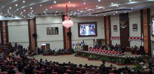 Paripurna DPRD Sulut Menunggu Pidato Presiden di Hadapan Anggota DPR dan DPD