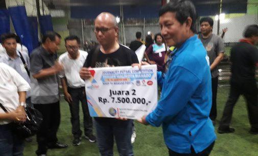 Diwarnai Gol Kontroversial, Forward Sulut Kalah 2-3 di Partai Final