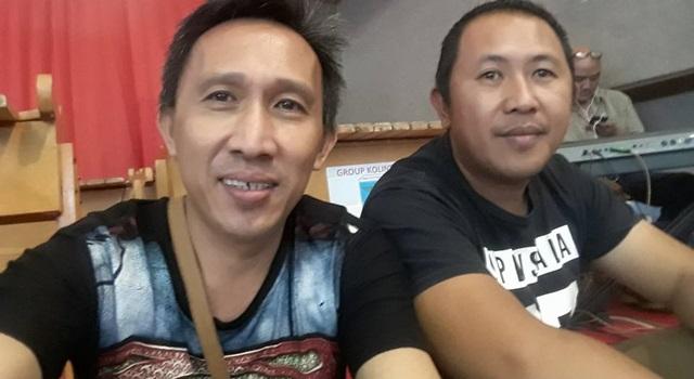 Alwin Raranta (kanan)