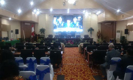 DPRD Kota Manado Gelar Rapat Paripurna Istimewa Mendengarkan Pidato Presiden RI