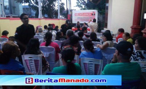 Mengharukan, Warga Bahu Membahu Siapkan Reses Habriyanto Achmad