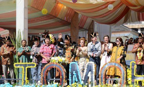 Kembali Gelar Festival Bunga, STEVEN KANDOUW Bilang Pemkot Tomohon sudah Berkontribusi