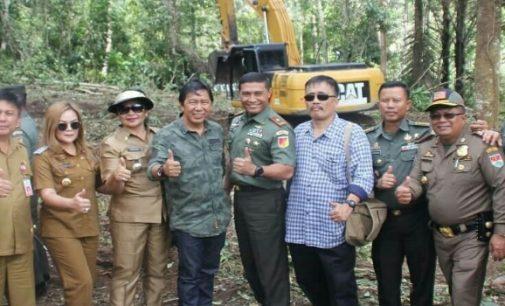 TNI-Pemkab Mitra Kolaborasi Cetak Puluhan Hektar Sawah Baru di Ratim