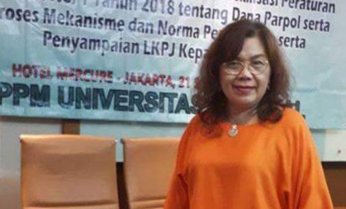 NONA RIMPOROK Kans Kuat Wakil Ketua DPRD Minut