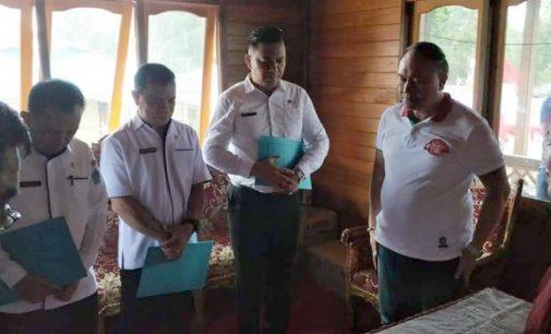 Empat Pejabat Pemkab Minut Terima Nota Dinas