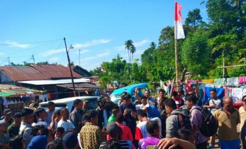 Ini Alasan Kapolsek Tuminting Gagalkan Upacara Bendera Warga Kampung Bobo
