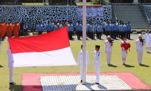 Upacara Bendera HUT Kemerdekaan RI di Minut Berlangsung Hikmat
