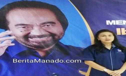 Pileg 2019, Partai Nasdem Optimis Bakal Raih Satu Fraksi Utuh di DPRD Manado