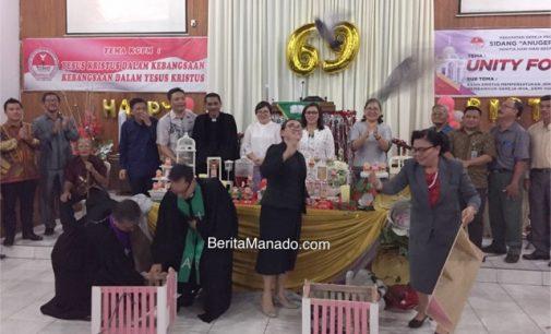 HUT ke-69 KGPM Anugerah Malalayang, Keseimbangan Membangun Iman dan Rumah Tuhan