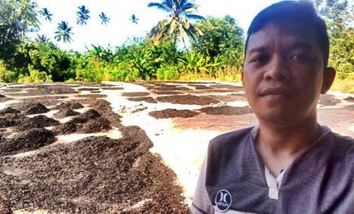 Harga Kopra Anjlok, Tukang Arang ini Beri Solusi
