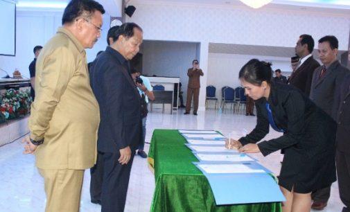 Empat Pejabat Plt Pemkot Bitung Didefinitifkan, Pingkan Kapoh Tinggalkan Humas