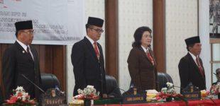 DPRD-Pemkab Minahasa Ikuti Pidato Kenegaraan Presiden RI