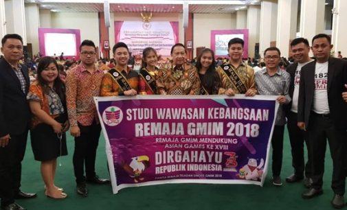 Senator Stefanus Liow dan Marhany Pua Fasilitas Para Teladan Ikuti Acara Kenegaraan di Jakarta