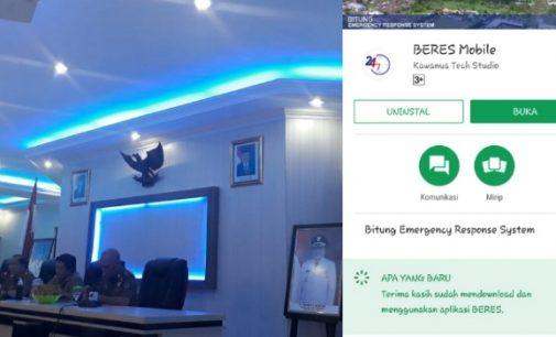 Gagal dengan Aplikasi OneBit, Pemkot Bitung Kembali Luncurkan BERES Mobile