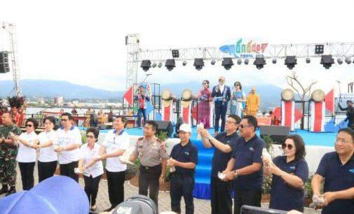 Opening Ceremony FisCo Spektakuler, TJAHJO KUMOLO Setuju Manado Fiesta di Perda-kan