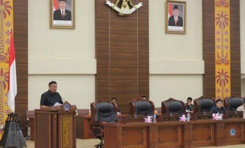 Ini Penjelasan Gubernur Olly Dondokambey terhadap Perubahan APBD 2018 di Rapat Paripurna DPRD Sulut