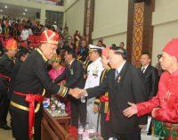 Gubernur Olly Dondokambey Paparkan Keberhasilan Pembangunan di Rapat Paripurna HUT Provinsi