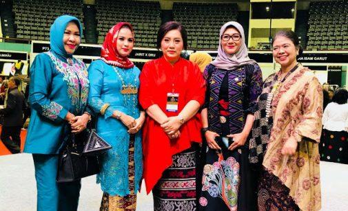 Rita Tamuntuan Hadiri Pembukaan Pameran Kerajinan Nusantara Kriyanusa 2018