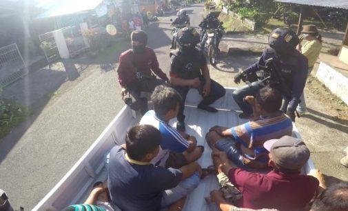 PaRaMiTa Polres Minut Bongkar Judi Sabung Ayam di Talawaan