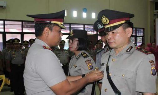 Ini Sejumlah Perwira Baru di Polres Minsel