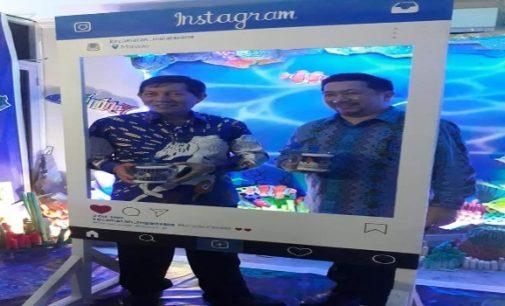 Pembukaan Pameran, Vicky Lumentut dan Mor Bastiaan Tinjau Stand Pemkot Manado
