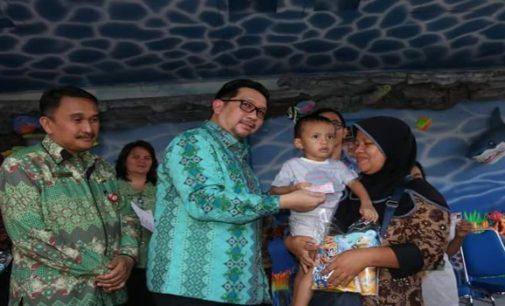 Mor Bastiaan Launching Kartu Identitas Anak