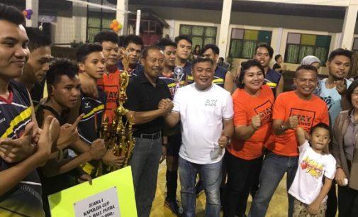 Tim Voli Putra Polres Minut Jawara Turnamen Kapolda Cup 2018