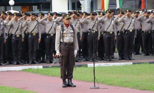 Peringati Hari Olah Raga Nasional, Polda Sulut Gelar Upacara Bendera