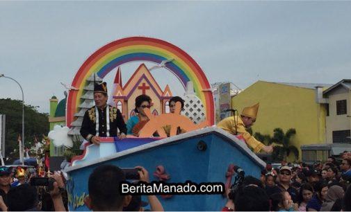 Ini Yang Dikatakan Walikota Manado Dalam Pembukaan Event Manado Fiesta 2018