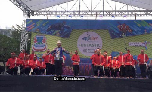 Lomba Masamper Ramaikan Event Manado Fiesta 2018