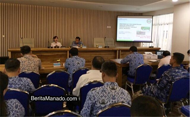 Pertemuan Tim Kemitraan dengan Pemangku Kepentingan Kota Manado, Senin (17/9/2018)