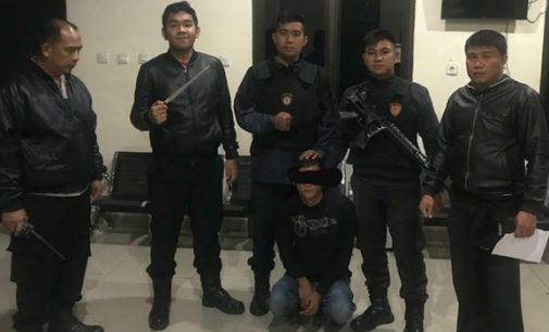 URC Rayon Ambon Sahbara Polres Minahasa Amankan Pemuda Papakelan