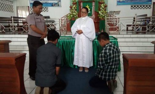Terlibat Perkelahian, Lima Siswa Didoakan di Gereja