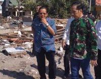 Tiba di Palu, Presiden Jokowi Langsung Pimpin Ratas