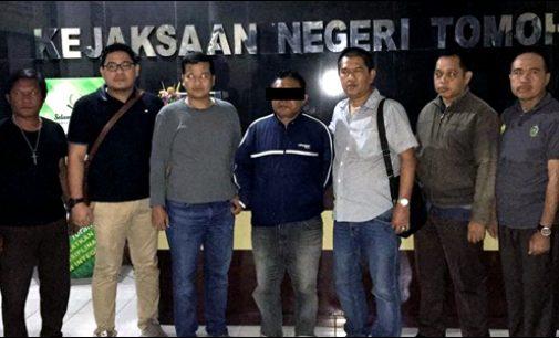 Diciduk Tim Gabungan, Pelarian Mantan Ketua KPUD Halmahera Utara Berakhir di Desa Ranatongkor