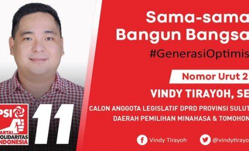 Vindy Tirayoh Siap Jadi Wakil Rakyat Yang Punya Kompetensi dan Integritas