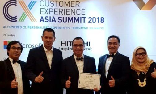 Angkasa Pura I Jadi Juara di Customer Experience Asia Excellence Awards 2018 di Singapura
