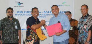 Manfaatkan e-Boarding Pass, Penumpang Garuda Tak Perlu Lelah Antri di Bandara Sam Ratulangi