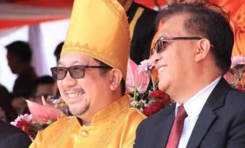 Wakili Vicky Lumentut, Mor Bastiaan Hadiri Puncak Peringatan HUT ke-54 Provinsi Sulut