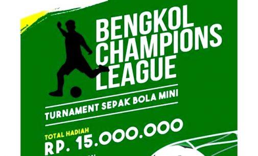 Turnamen Sepak Bola Mini Siap Digelar di Kelurahan Bengkol