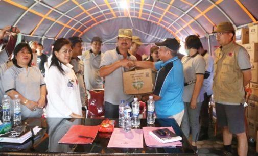 Bantuan Kemanusiaan Pemkab Mitra Tiba di Sulteng