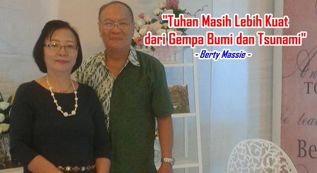 Berty Massie dan isteri Deitje Lintang