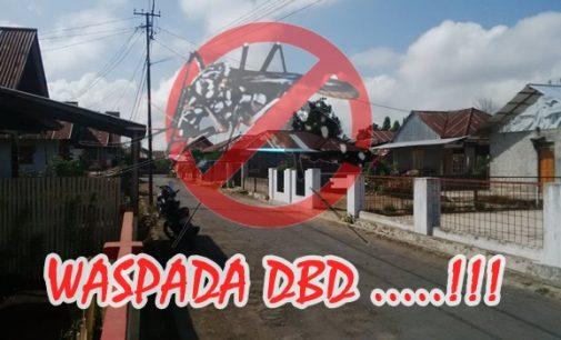 Satu Warga Desa Wolaang Positif DBD